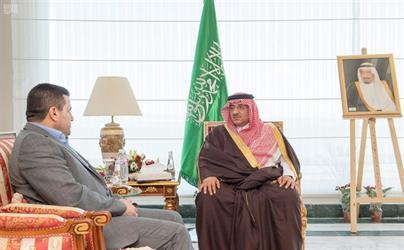 و ولي العهد يستقبل وزراء داخلية الإمارات واليمن والعراق والأردن