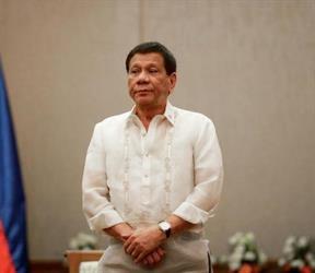 صورة للرئيس الفلبيني رودريجو دوتيري