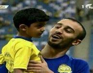 محمد السهلاوي يحقق أمنية طفل معاق