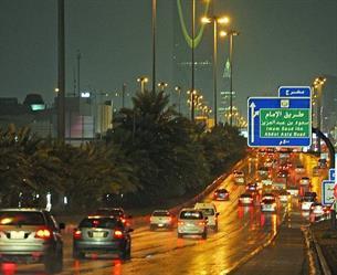 """""""الأرصاد""""توضح حقيقة """"العاصفة"""" المقبلة على الرياض الليلة.. وتؤكد: أمطار غزيرة خلال الساعات المقبلة"""