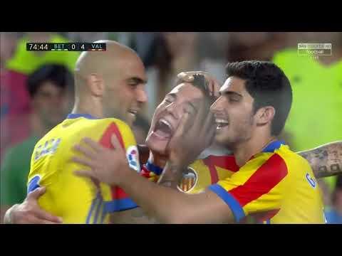 ريال بتيس ( 3 - 6 ) فالنسيا الدوري الاسباني