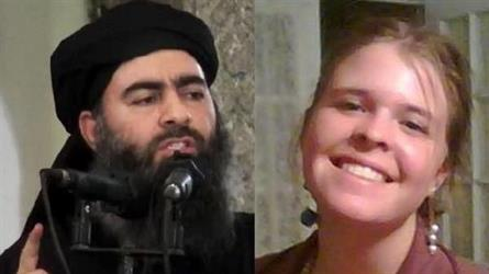 خليفة داعش اغتصب رهينة أميركية مرات قبل مقتلها