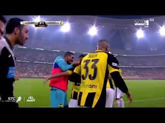 اهداف مباراة الاتحاد ( 1 - 1 ) الشباب الدوري السعودي للمحترفين