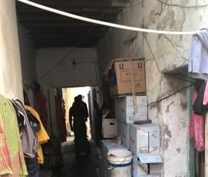 بلدية أملج تداهم منزل شعبي يستخدم لتخزين المياه الصحية