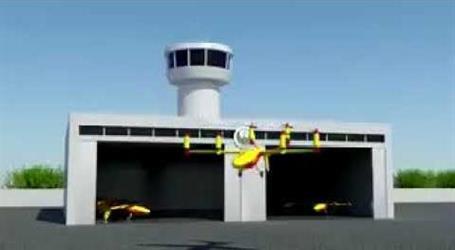 بالفيديو.. طائرة إطفاء بدون طيار لمكافحة الحرائق في دبي