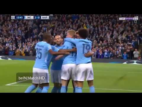مانشستر سيتي (2 - 1) نابولي دوري ابطال اوروبا