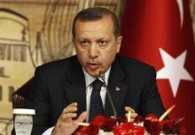 رجب طيب اردوغان رئيس الوزراء التركي في اسطنبول