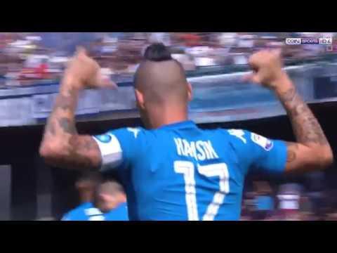 نابولي (3 - 0) كالياري الدوري الايطالي