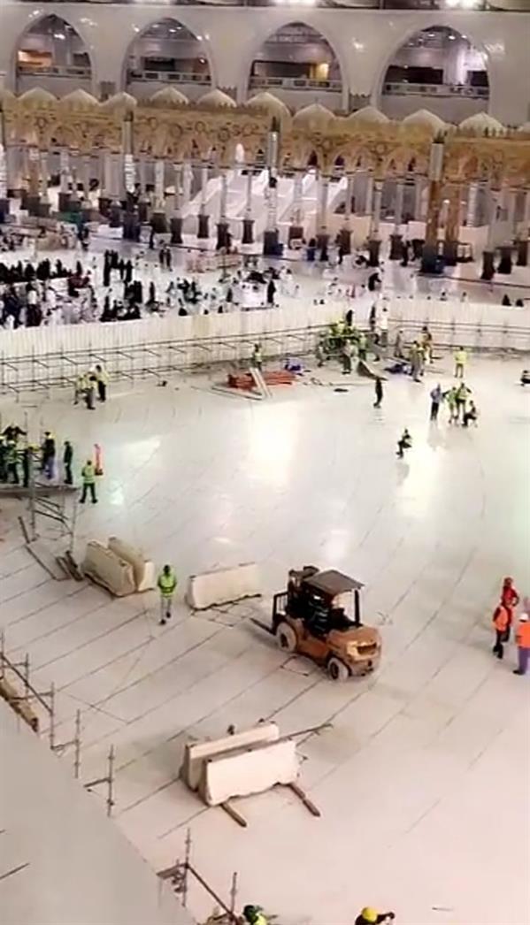 بالصور.. بدء مشروع تأهيل بئر زمزم بعد موافقة خادم الحرمين الشريفين