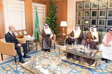 وزير الخارجية يستقبل سفيري الإمارات ولبنان لدى المملكة