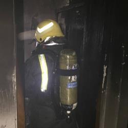 اختناق 5 في حريق شقة سكنية بالدمام
