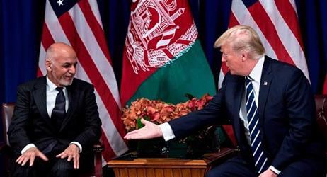 ترامب طلب من الرئيس الأفغاني إغلاق مكتب طالبان في قطر