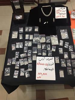 """شرطة الرياض تطيح بعصابة اقتحمت منزل وافد وسلبت """"ألماس"""" بلميوني ريال تحت تهديد السلاح"""