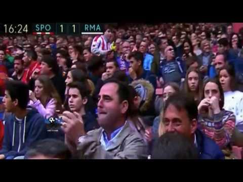 سبورتنج خيخون (2 - 3) ريال مدريد الدوري الاسباني