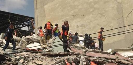 صوره من ضحايا الزلزال