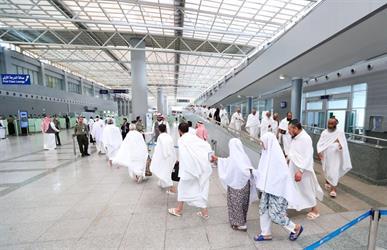 الطيران المدني: أكثر من ٧٠٥ ألف حاج قدموا إلى المملكة عبر مطاري جدة والمدينة المنورة حتى الاثنين 14 أغسطس
