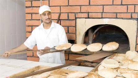"""""""التجارة"""" تحدد الحد الأدنى لوزن الخبز.. وتحذر المخالفين بعقوبات فورية"""