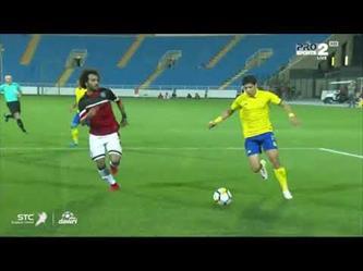 اهداف مباراة النصر ( 5 - 0 ) الرائد الدوري السعودي للمحترفين