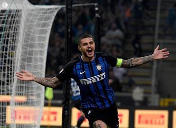 إيكاردي يقود إنتر لانتصار قاتل على ميلان بالدوري الإيطالي
