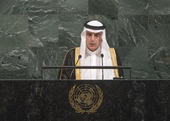 الجبير أمام الأمم المتحدة: سياسات قطر ساهمت في إثارة الفتن وزعزعة الأمن والاستقرار في المنطقة (فيديو)