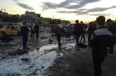 الشرطة: انتحاريون يهاجمون محطة للطاقة شمالي بغداد ومقتل سبعة