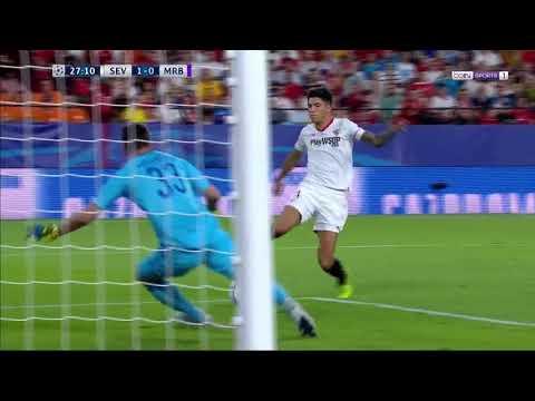 إشبيلية ( 3 - 0 ) ماريبور دوري ابطال اوروبا