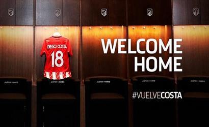 رسمياً: اتلتيكو مدريد يعلن عن ضم كوستا