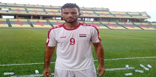 حقيقة إصابة عمر السومة بالرباط الصليبي خلال مباراة سوريا والعراق