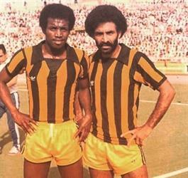الكابتن عيسى حمدان  والكابتن سعد الدوسري