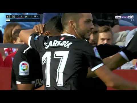 جيرونا ( 0 - 1 ) إشبيلية الدوري الاسباني