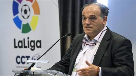 مانشستر سيتي يهدد بمقاضاة رئيس رابطة الدوري الإسباني