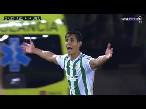 هدف و ملخص مباراة ريال بيتيس ( 0 - 1 ) اسبانيول الدوري الاسباني