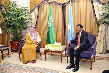 الوزير الجبير يلتقي وزير خارجية جمهورية الصومال